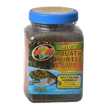 Zoo Med Natural Aquatic Turtle Food 8 oz