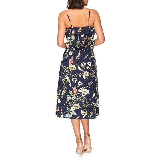 48ff34f747 Bobeau - Maya Printed Dress - Walmart.com