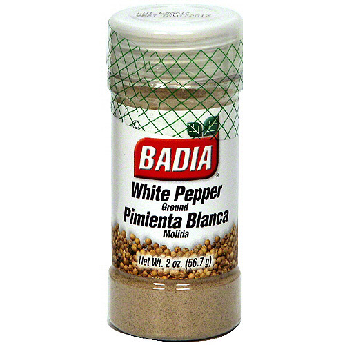 Badia Ground White Pepper, 2 oz (Pack of 12)