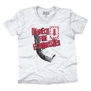 Fire Extinguisher Redneck Shirt Country Gift Idea USA America V-Neck T-Shirt