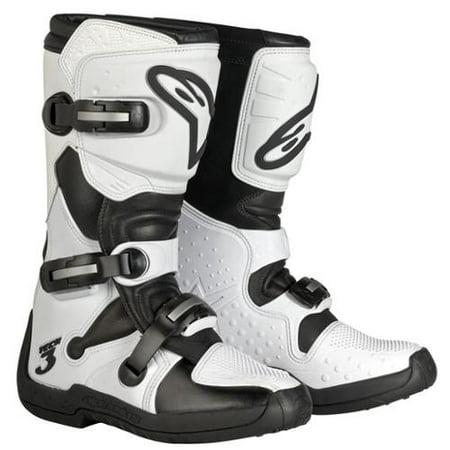 Image of Alpinestars Stella Tech 3 Womens MX Boots White/Black