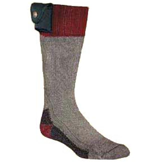 Nordic Gear 5481 Battery Heated Socks Md 9-10.5 by