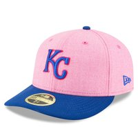 Kansas City Royals New Era 2018 Mother's Day On-Field Low Profile 59FIFTY Fitted Hat - Pink/Royal