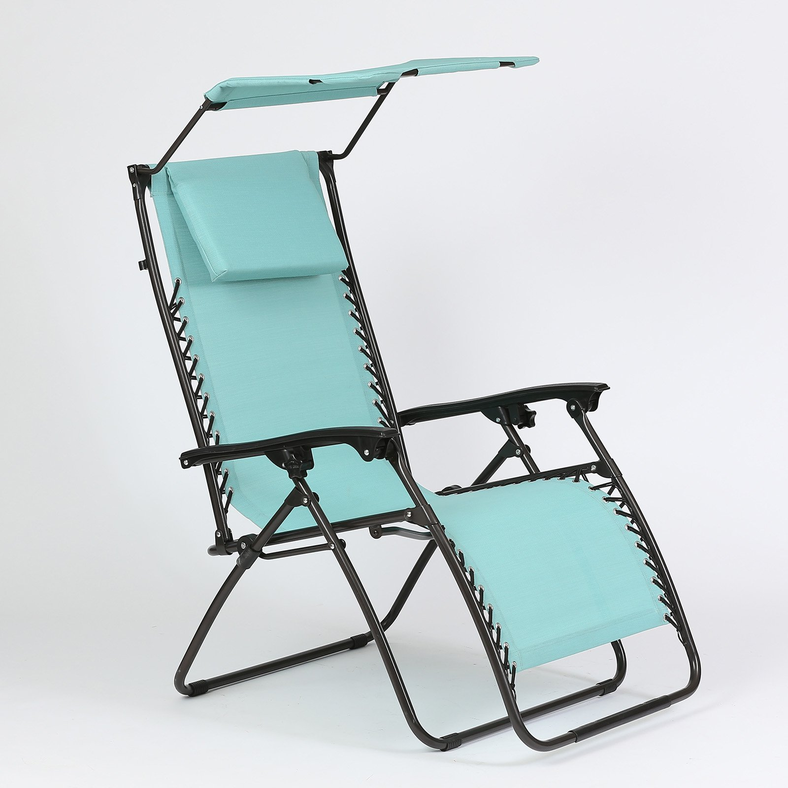 Winsome House Zero Gravity Lounge Chair with Canopy