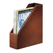 Rolodex Wood Tones Mahogany Magazine File - Mahogany - 1 Each (rol-4079)