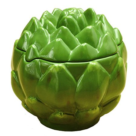 Gourmet Home Collection Ceramic Artichoke Storage Container Rogar Gourmet Collection