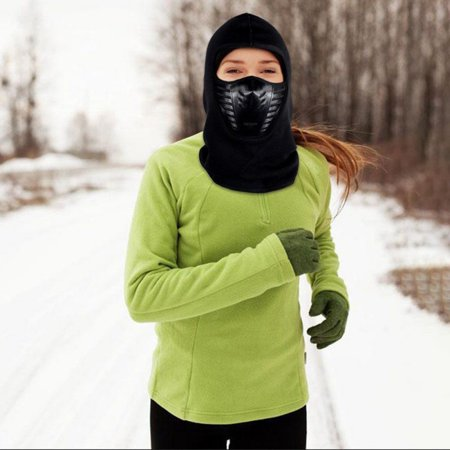 Outdoor Face Mask Microfiber Polyester Multifunctional Seamless Headwear for Motorcycle Hiking Cycling Ski Snowboard ()