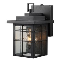 Hardware House Outdoor Photo Cell Wall Lanter - Finish: Textured Black