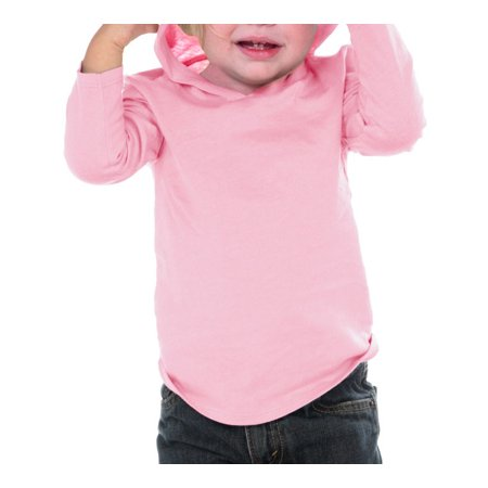 Kavio IJC0457 Infants Long Sleeve Pullover Hoodie-Baby Pink-24M (Hoodie Blanket)