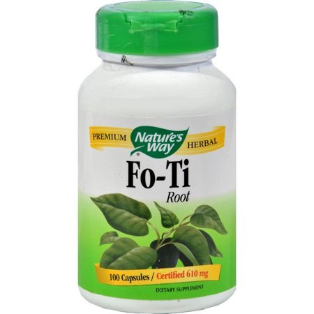 Nature's Way Fo-ti Root - 100