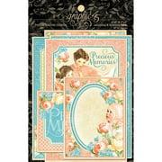 """Precious Memories Ephemera Cards, 4"""" X 6"""