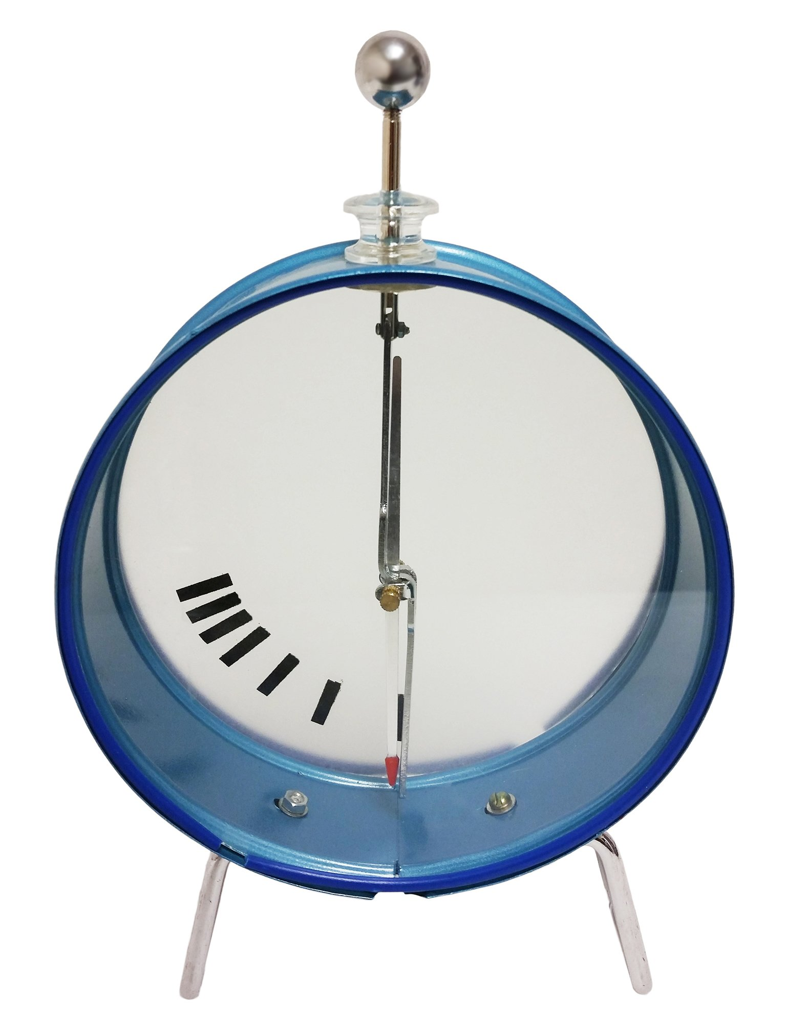 GSC International 4-50190 Electroscope with Round Case, Free-Spinning Pointer, and Indicator Gauge by GSC International Inc.