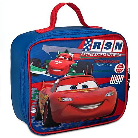 Disney Cars Lightning McQueen vs. Francesco Lunch Tote Bag