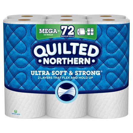 Quilted Northern Ultra Soft & Strong Toilet Paper, 18 Mega Rolls (Halloween Crafts With Toilet Paper Rolls)