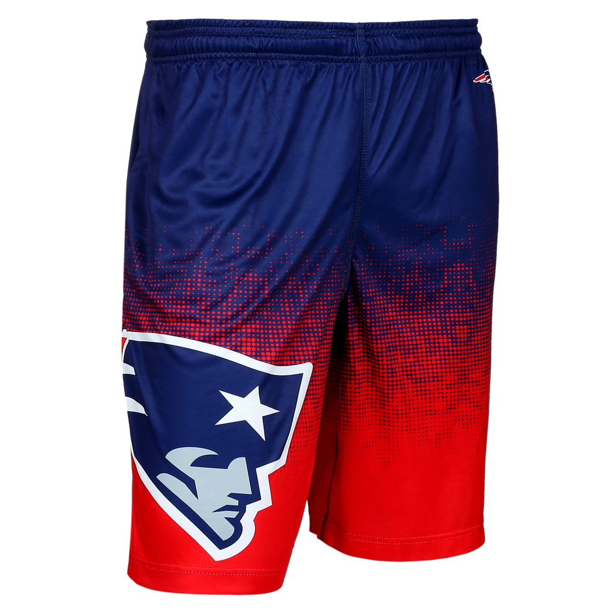 "New England Patriots NFL ""Gradient"" Men's Polyester Training Shorts"