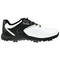 baebe669a7cd Product Image Etonic Mens Stabilite Shoes White Black Size 11.5 Wide EG500WK