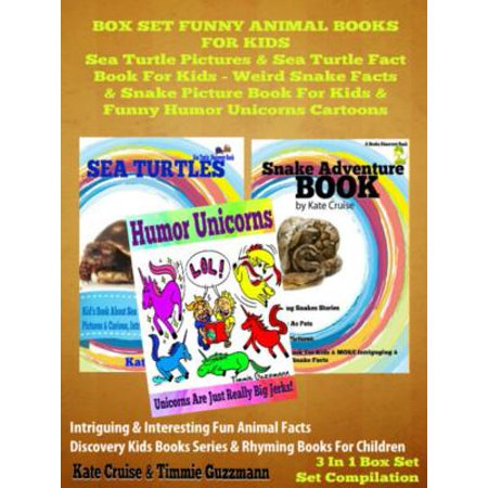Box Set Funny Animal Books For Kids: Sea Turtle Pictures & Sea Turtle Fact Book Kids - Weird Snake Facts & Snake Picture Book For Kids & Funny Humor Unicorns Cartoons - eBook](Funny Halloween Political Cartoons)