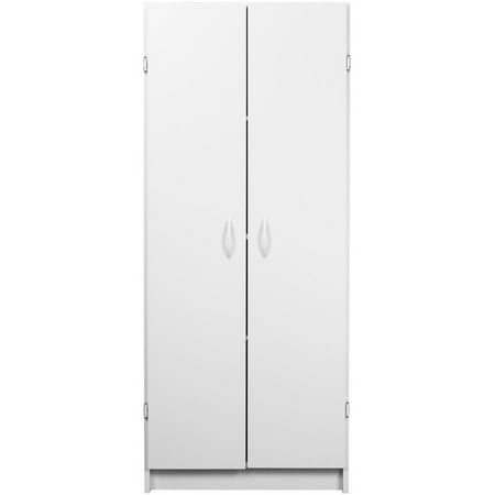 ClosetMaid White Pantry Cabinet, -