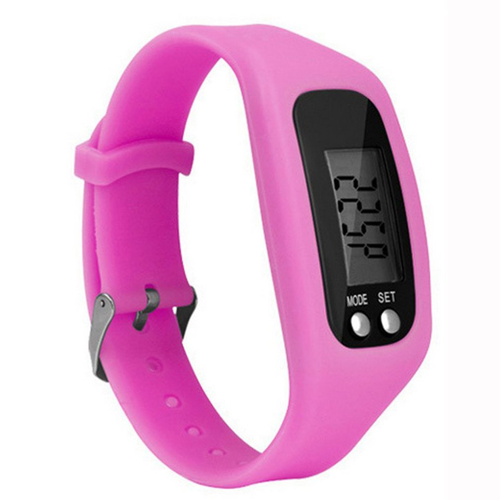 Multifunction Smart Bracelet Pedometer Activity Tracker 5 Digit LED Display Outdoor Sport Wristband Health Watch for Adults