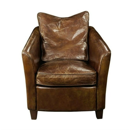 Moes Charlston Club Chair In Brown