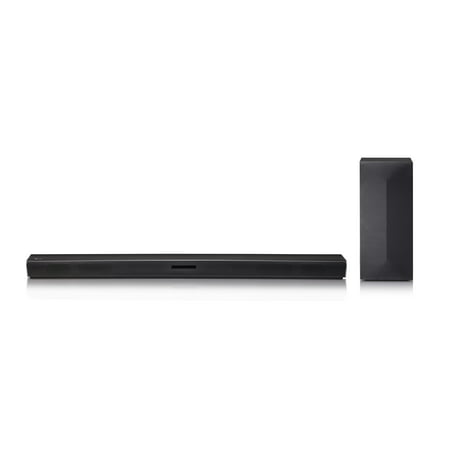 LG 2.1 Channel 300W Soundbar with Wireless Subwoofer - SL3D