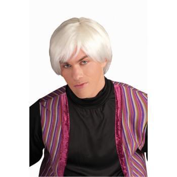 POP ARTIST WIG - White Old Man Wig