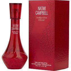 Naomi Campbell Seductive Elixir By Naomi Campbell   Edt Spray 1 7 Oz   Women
