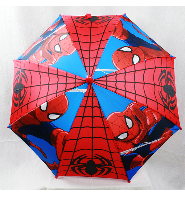 Cheap Child Size Nylon Umbrella Kids Cartoon Spiderman Printing Umbrella What is the specification of Cheap Child Size Nylon Umbrella Kids Cartoon Spiderman Printing Umbrella Item Name Cheap Child Size Nylon Umbrella Kids Cartoon Spiderman Printing Umbrella MOQ pcs Size 17
