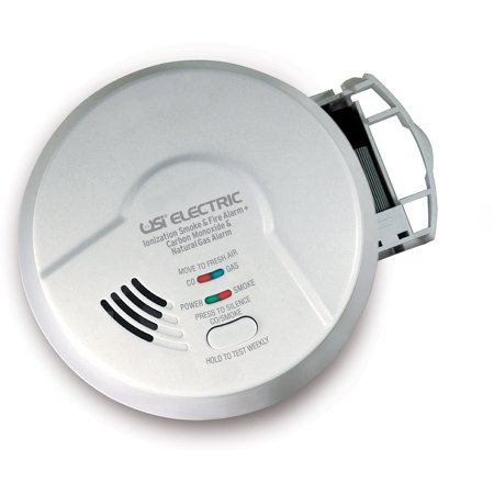 Universal Security Instruments Micn109 3 In 1 Iophic Smoke  Carbon Monoxide And Natural Gas Smart Alarm