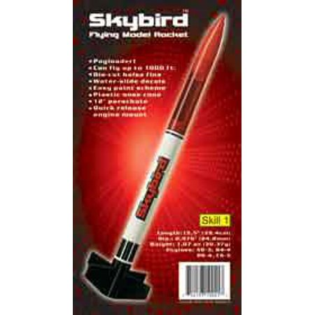 Flying Model Rocket Kit Skybird 10041   , By CUSTOM Ship