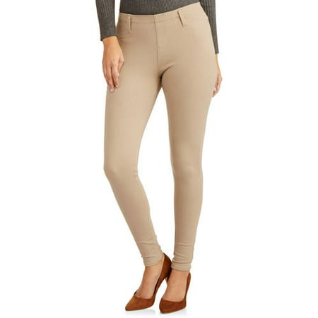 cdffa7d3bb5 Faded Glory - Faded Glory Women s Plus-Size Knit Color Jeggings -  Walmart.com