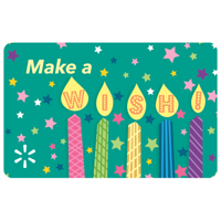 Birthday Candles Celebration Walmart eGift Card