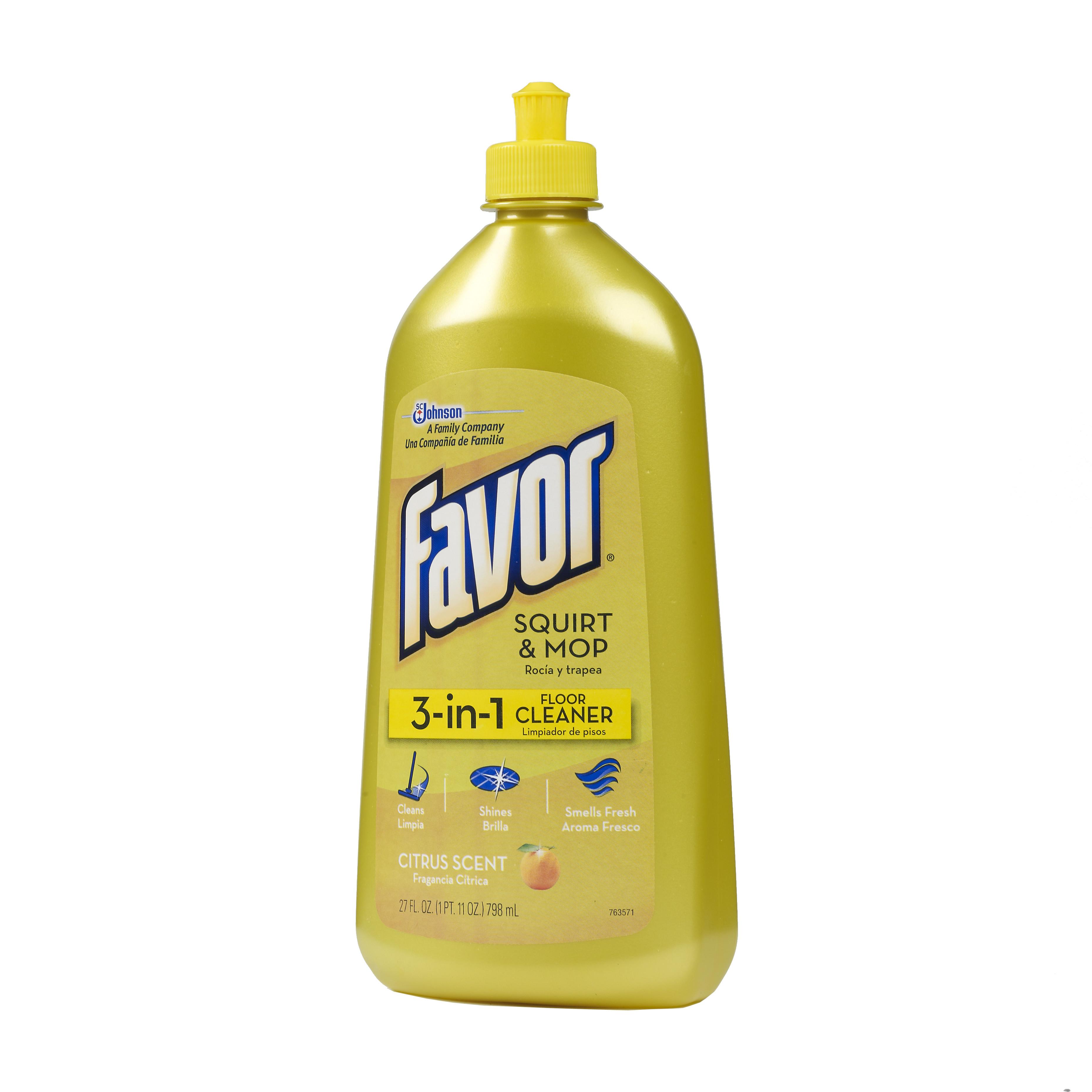 Favor 3 In 1 Floor Cleaner 27 Ounces Walmart