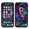 Skin Decal For Lifeproof Fre Iphone 7 Plus Or Iphone 8 Plus Case / Neon Color Swirl Glass Its A Skin-made in the USA using high quality vinyl. Super rich colors with a matte lamination provide a great look and added protection against minor scratches. Leaves no sticky residue behind.
