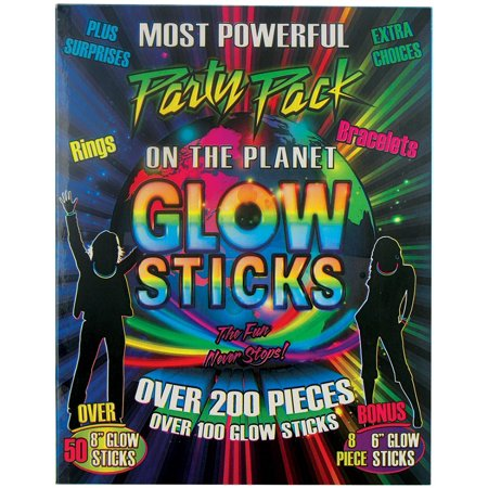 Pack Of Glow Sticks (200 Pieces Glow Sticks Party Pack with)