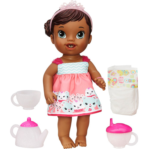 Baby Alive Lil' Sips Baby Has a Tea Party Doll, African American