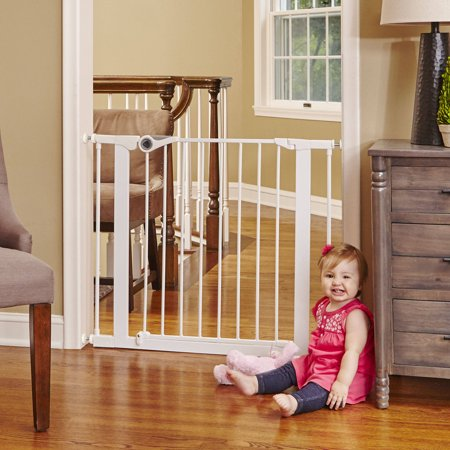 North States Essential Walk Thru Baby Gate 29 8 Quot 43 6