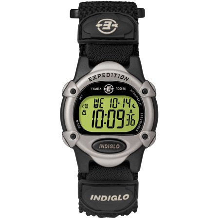 Unisex Expedition Digital CAT Watch, Black Fast Wrap Strap