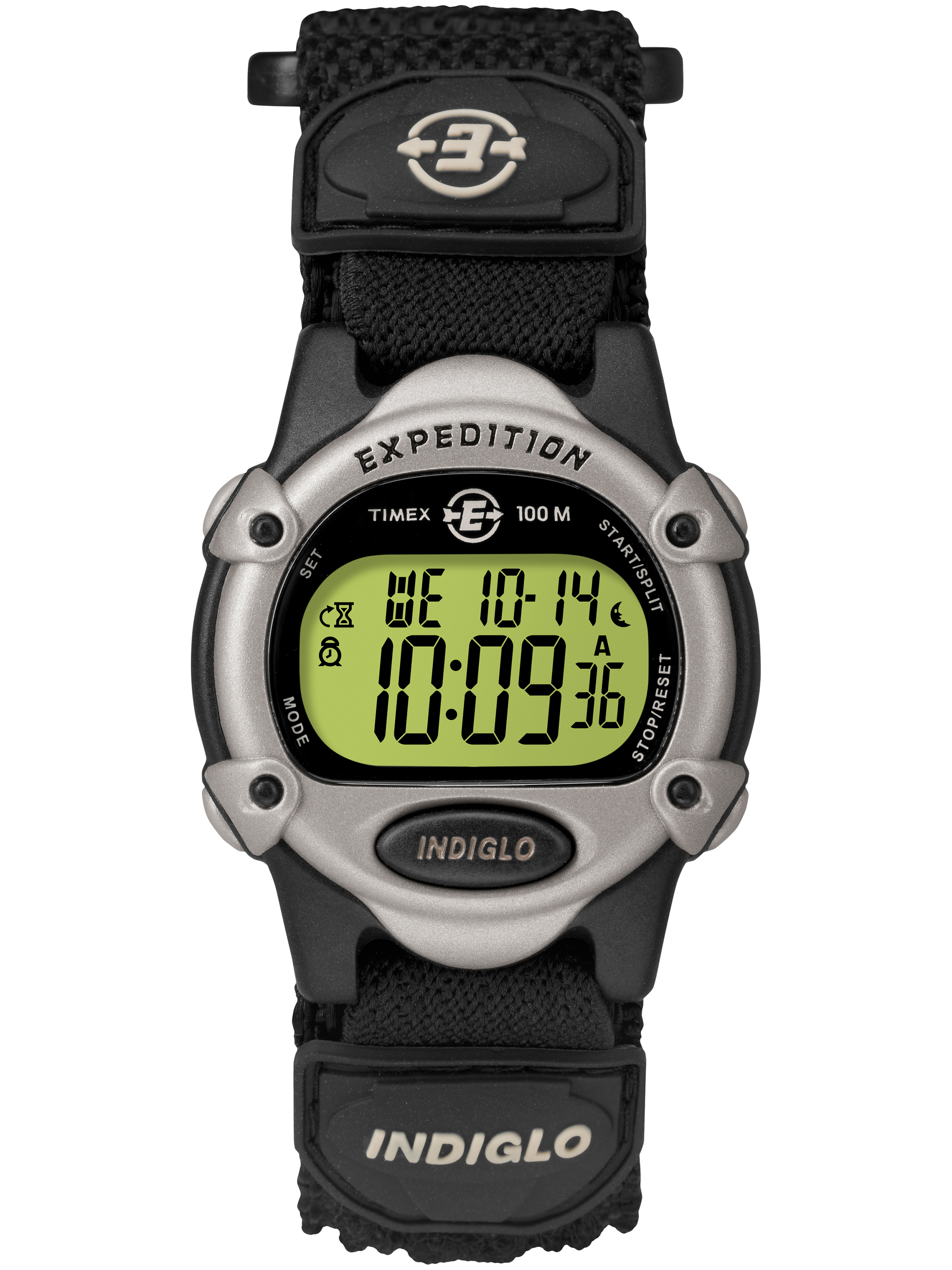 Unisex Expedition Digital CAT Watch, Black Fast Wrap Strap