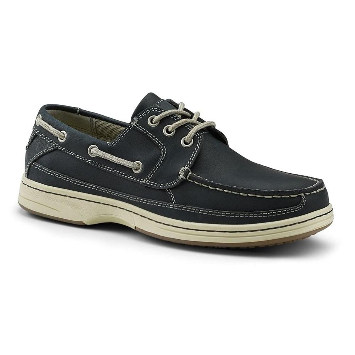 Dockers Pier Mens Navy Boat Shoes by Dockers