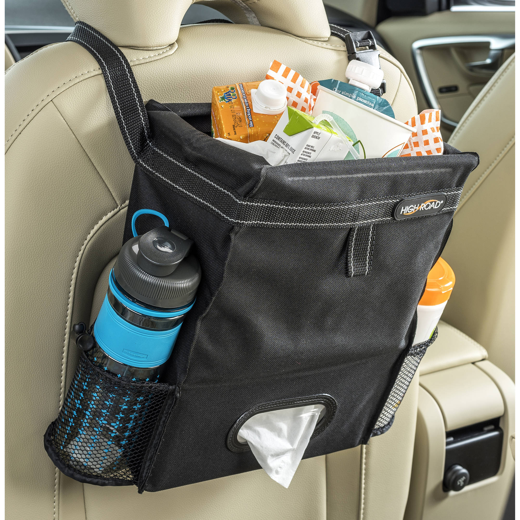 High Road Puff 'n Stuff Trash and Tissue Car Seat Organizer