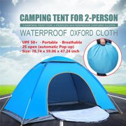 UV Protection Camping Tent Automatic Quick Open 2-3 Person Shelter Beach Instant Cabin 78.74 Outdoor Accessories