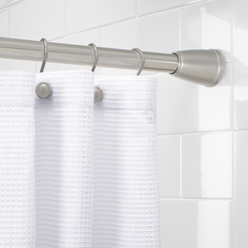 Elegant Better Homes And Gardens Metal Shower Curtain Rod Collection