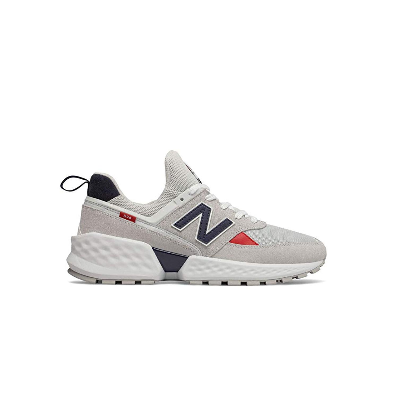 New Balance - NEW BALANCE 574 Sport Men   Nimbus Cloud / White (MS574GNC) (12-Men) - Walmart.com