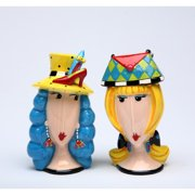 Cosmos Gifts Let's Go Shopping Salt and Pepper Set