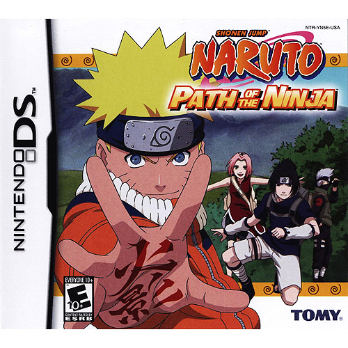 Naruto: Path of The Ninja - Nintendo DS