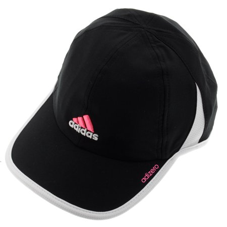 f6ff4b18029b4 adidas - Women`s Adizero II Tennis Cap Black and White - Walmart.com