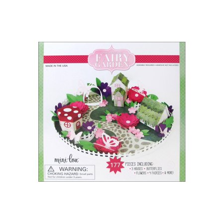 MiniLou Design Your Own Fairy Garden Box Set ()
