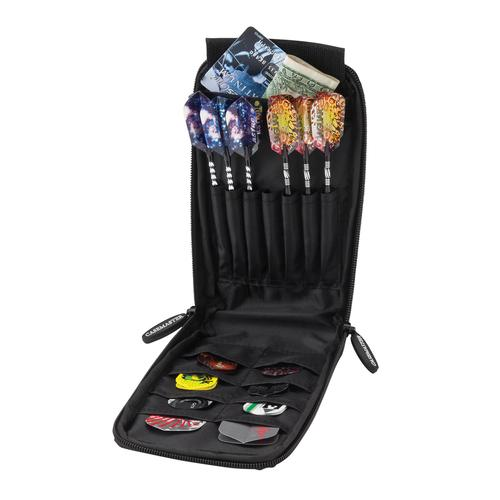 Casemaster Mini Pro Black Leather Dart Case - image 1 de 3