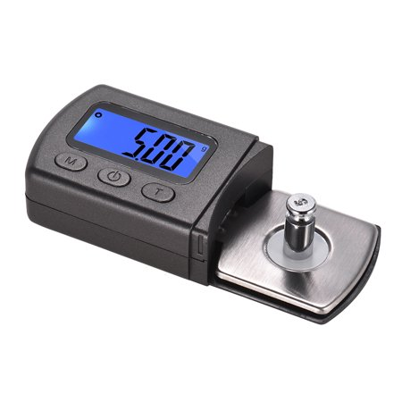 Mini Turntable Phono LP Stylus Force Scale Gauge ±0.01g Accuracy LCD Display with One 5g Weight Storage Bag - image 1 of 7